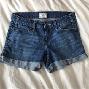 Levi's Denim Cuffed Jean Shorts